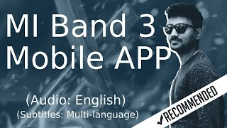 Mi band App features in English | Mi band 3 in English | Mi band IOS App in English