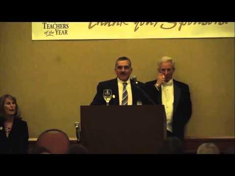 Angelo Bracco's 2014 California Teacher Of The Year Gala Speech