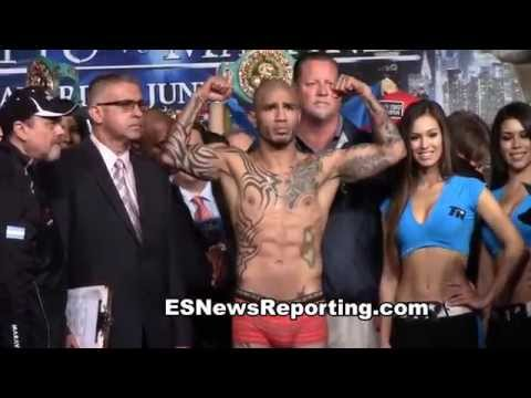 Full Miguel Cotto vs Sergio Martinez Weigh Ins