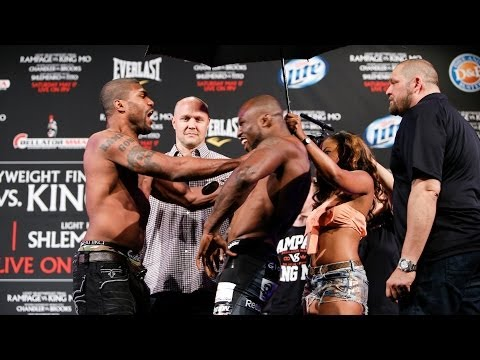 Bellator 120 Weigh-Ins: Rampage Shoves King Mo Image 1