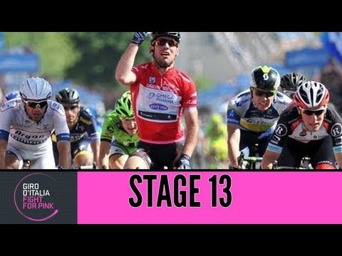 Giro d'Italia 2013 Tappa / Stage 13 Official Highlights