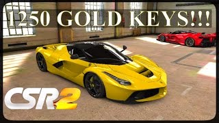 CSR Racing 2 - 1250 Gold keys!! - Episode 9