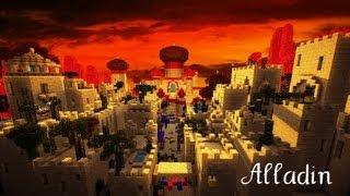 Minecraft Disney - Aladdin