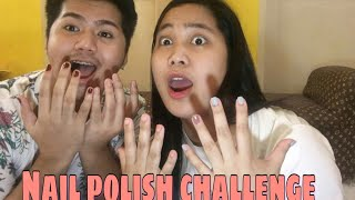 WHISPER CHALLENGE X NAIL POLISH CHALLENGE (WITH KIEN)😅