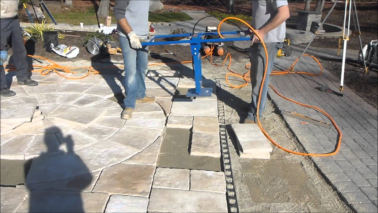 Suction Cup Paver Placer By Pave Mor Youtube