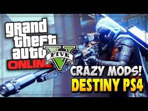GTA 5 Mods Ruin Cars | Destiny PS4 & Call Of Duty Advanced Warfare (GTA 5 Online & Advanced Warfare)