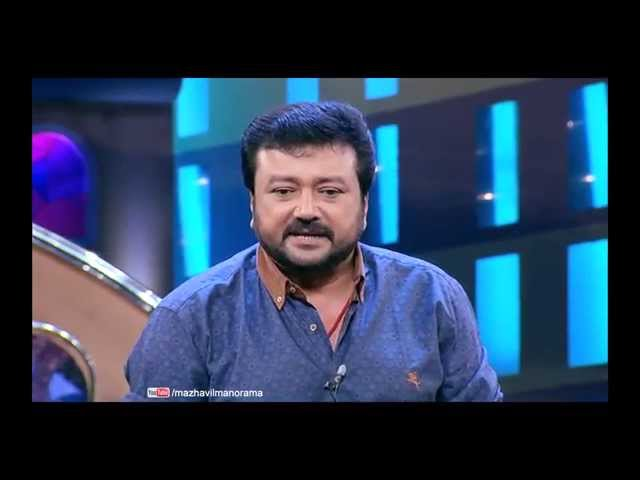 Super star JAYARAM in Cinemaa Chirimaa at 8 pm on 12th November