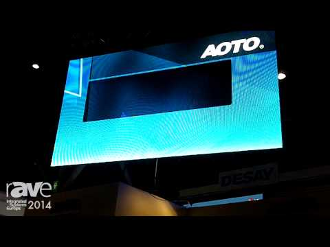 ISE 2014: AOTO Electronics Introduces New Area Displays and Control System