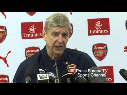 Arsene Wenger Pre Swansea Vs Arsenal