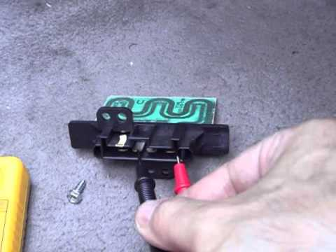 2001 nissan altima blower motor resistor replacement youtube for Nissan quest blower motor resistor