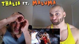 Thalía - Desde Esa Noche ft. Maluma [REACTION]