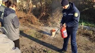 На Сумщині рятувальники проводять роз'яснювальну роботу