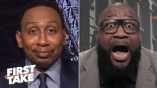 Stephen A. irritates former Cowboys player Marcus Spears | First Take