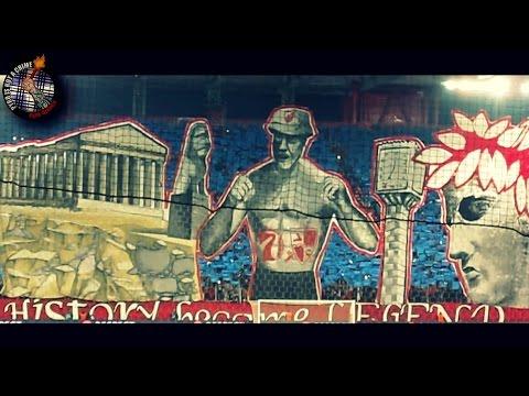 Olympiakos - Dinamo Zagreb  04.11.15  // Pyro-Greece