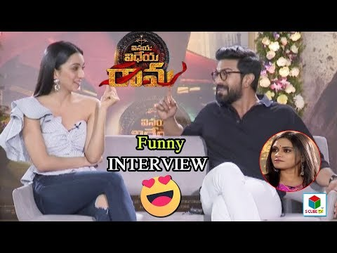 Vinaya Vidheya Rama Team interview  | Ram Charan | Kaira Advani | Latest Telugu Movies | S CubeTV