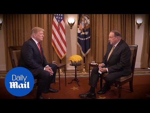 Mike Huckabee offers sneak peek at his interview with Trump - Daily Mail