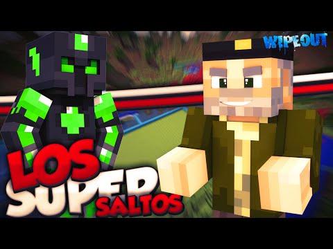 LOS SUPER SALTOS!! - Carrera de WipeOut - Willyrex Y sTaXx - MINECRAFT