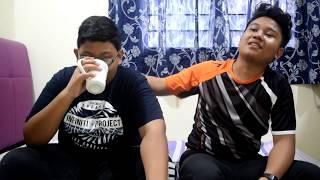 Ramen Ice Challenge || Malay || Hanya Kami Berdua