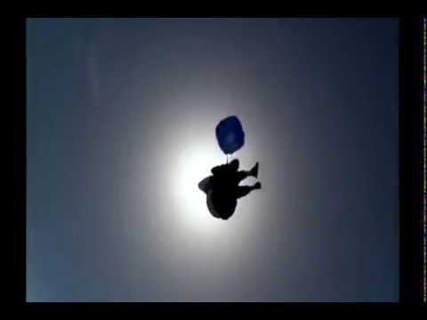 Lady Slips Out Of Parachute When Skydiving video