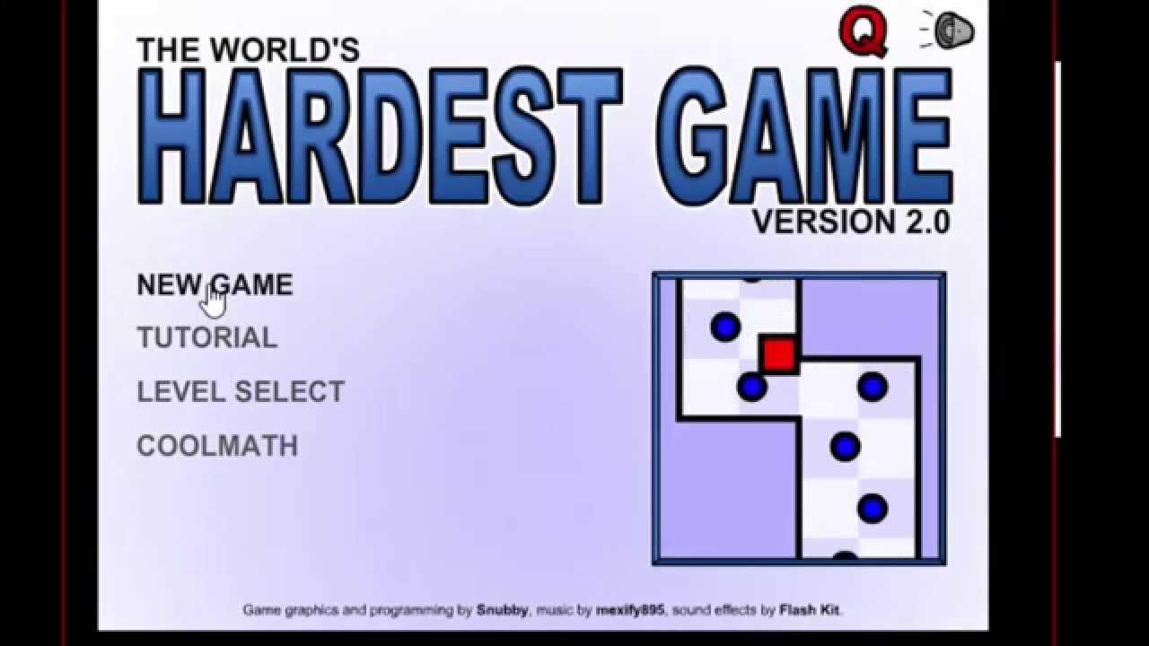 worlds hardest game 2 0
