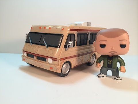 Funko Pop Rides The Crystal Ship with Jesse Pinkman Review