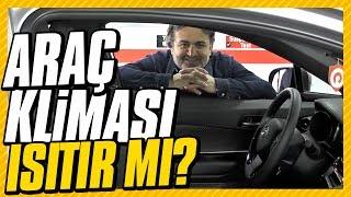 Araç klimaları ısıtır mı?