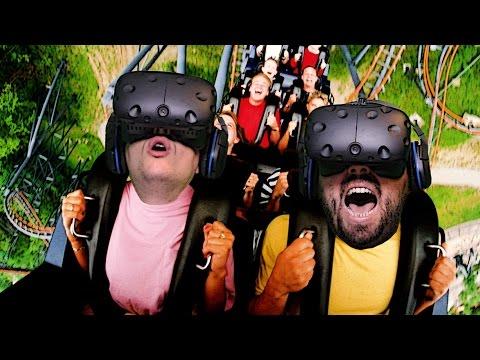 Roller Coaster (Hızlı Tren) Bindik - Sanal Gerçeklik