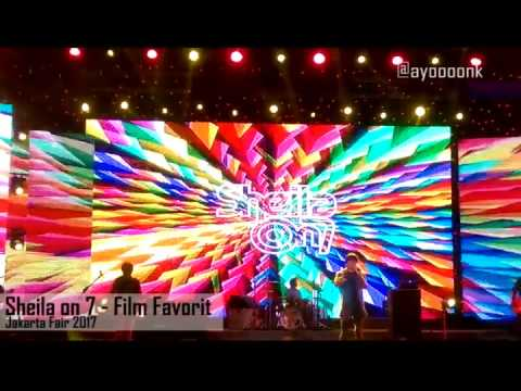New Song  Sheila On 7   Film Favorit   Live from PRJ Kemayoran Jakarta Fair 2017   16 Juli 2017