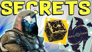 Destiny 2 - CAYDE'S SON ACE & SECRET ROOM! Hidden Treasures, Cayde Secrets, & Sleeping Guardian