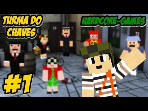 #Hardcore-Games turma do chaves vitoria - Minecraft HD