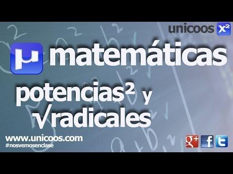 Operaciones con radicales 01 - Multiplicacion 2ºESO unicoos matematicas producto potencia
