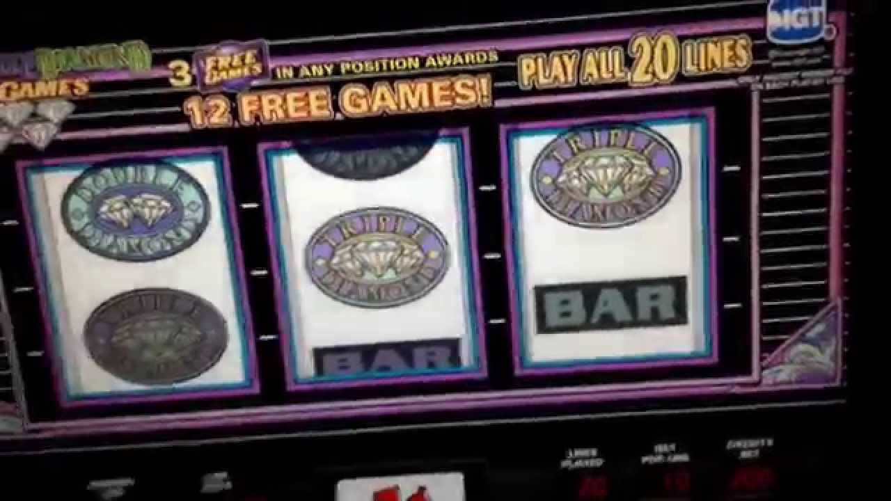 double diamond slot machine free