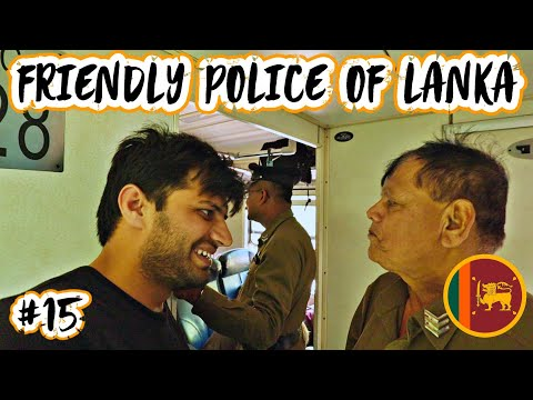 FRIENDLY POLICE OF SRI LANKA - NUWARA TO KANDY 🇱🇰