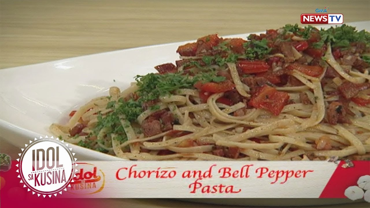 Idol sa Kusina: Chorizo and Bell Pepper Pasta