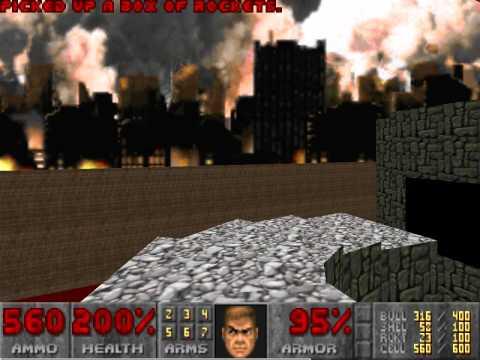 Doom 2 100 Speedrun Movie - UV Max in 1:46:41 by Rizera