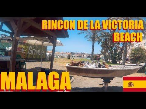 Malaga Spain: Rincon De La Victoria  Beach