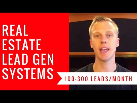 Real Estate Lead Generation Systems (100-300 leads/month)