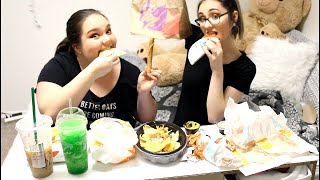 TACO BELL MUKBANG WITH MY BEST FRIEND