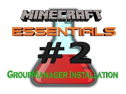 Minecraft Bukkit Plugin Essentials + GroupManager 1.5.2 [#2] [HD