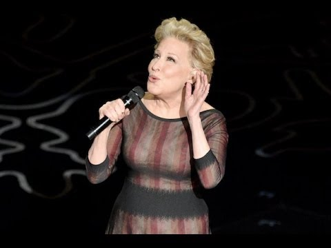 Bette Midler Oscars Awards 2014 Performance Tribute to Paul Walker