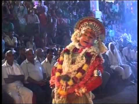 Muchur Utsava 2013 - Bhoota Kola video
