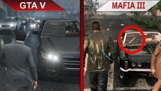 THE BIG GTA V vs. MAFIA III SBS COMPARISON | PC | ULTRA