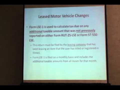 IADA Lease Tax Video 1
