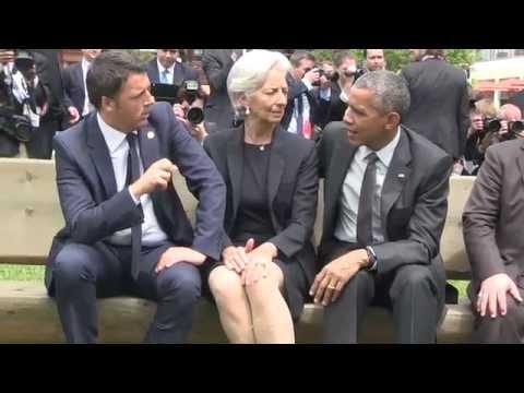 Matteo Renzi G7 Barack Obama - Foto al Castello di Elmau