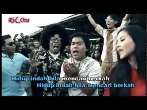 Wali Band - Cari Berkah (cabe)  [karaoke]   By.rid one video