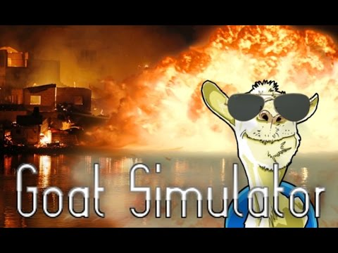 Goat Simulator: I AM THE GOAT, AND YOU ARE THE GOATEE