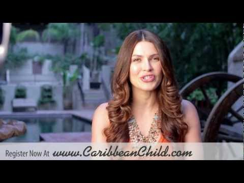 Justine Pasek Miss Universe 2002 Invites You To 2013 Children of Caribbean 5K