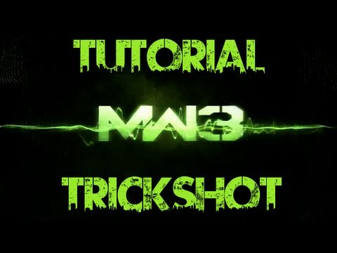 NEW MW3 TRICKSHOT TUTORIAL AMAZING | The weird shot