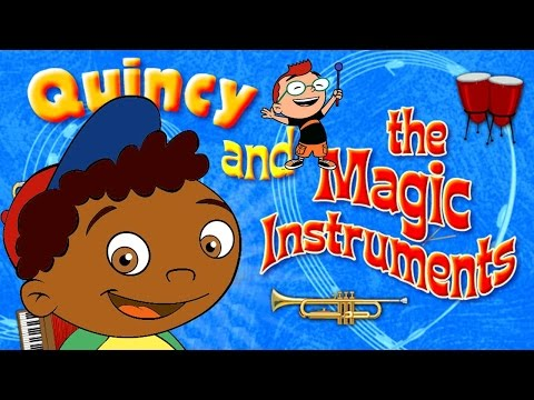 Quincy and the Magic Instruments: Little Einsteins game.
