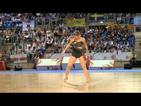 Karrissa WIMBERLEY (USA) - 4th place World Championship Twirling 2012